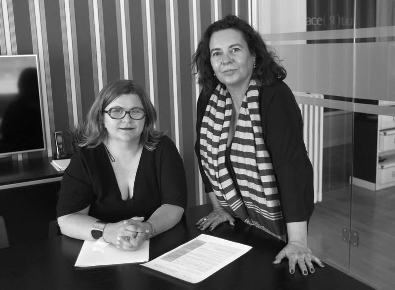 Entrevista en El Periódico de Aragón a Pilar Hernández Blasco y Celia Gil Lagunas, abogadas del Acertius.