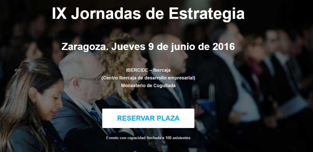 El 9 de junio se celebran las IX Jornadas de Estrategia